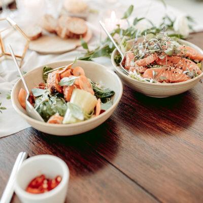 Ruoka – mitä huvilan häissä syödään?